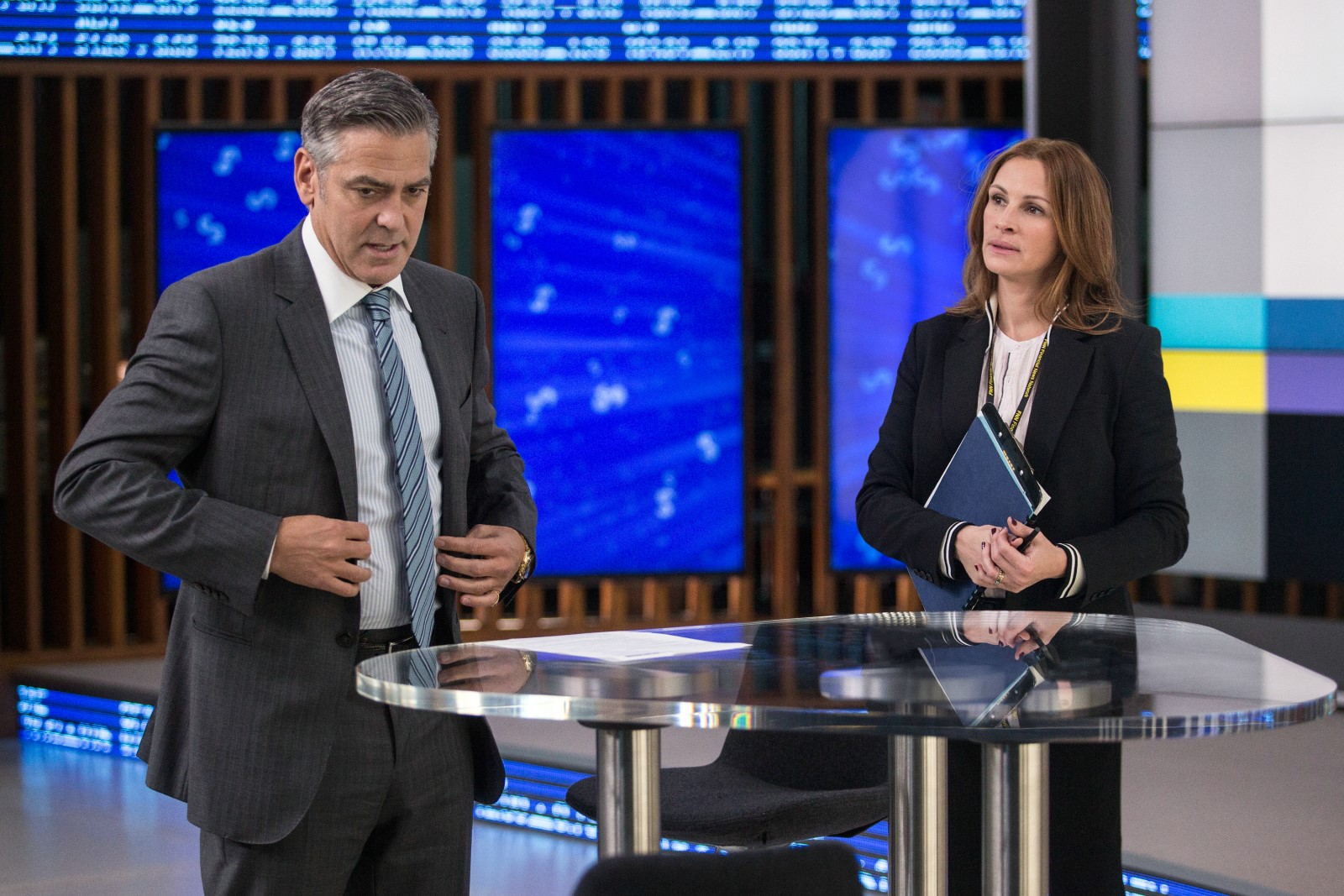 Money Monster - George Clooney et Julia Roberts