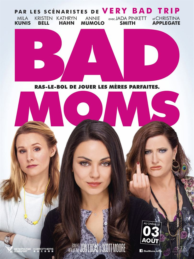Bad Moms en streaming