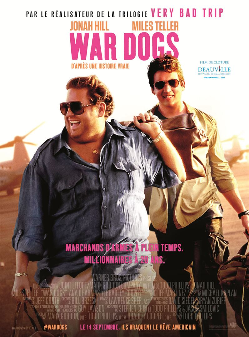 WAR DOGS en streaming