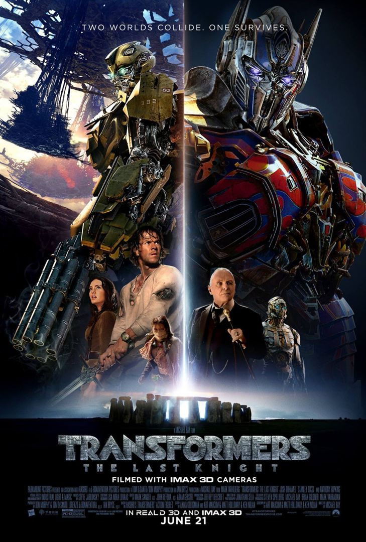 Transformers: The Last Knight en streaming