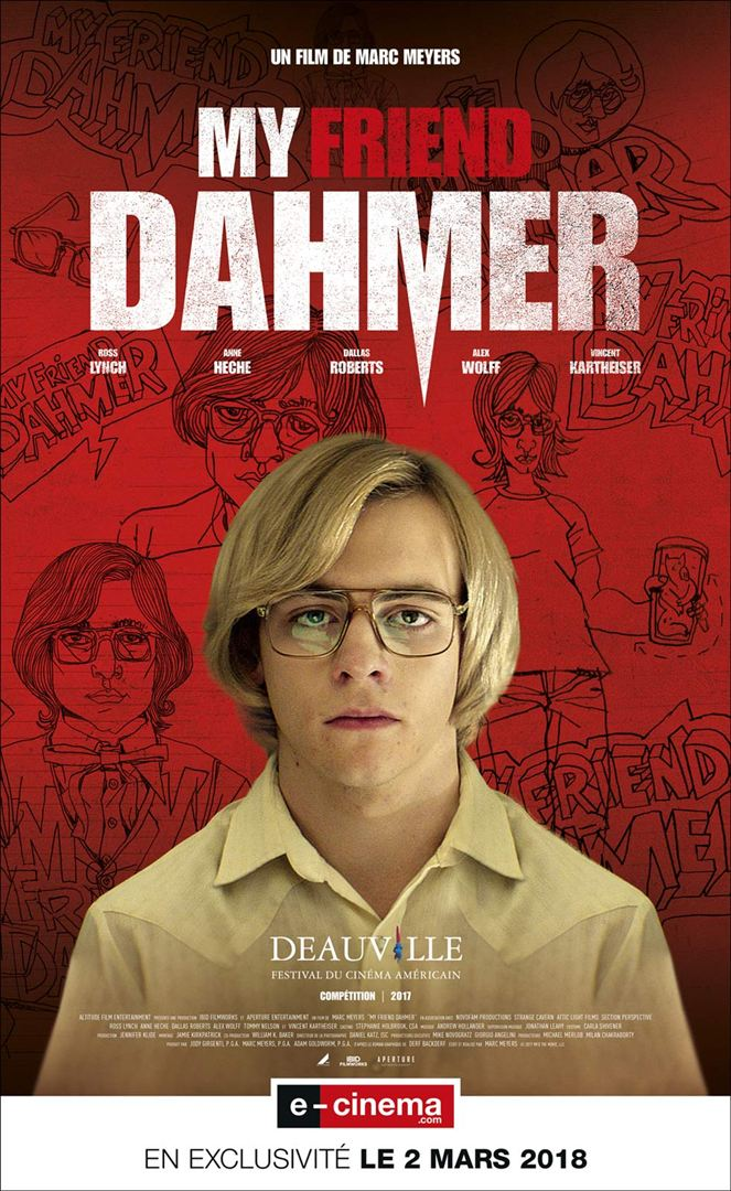 my friend dahmer affiche