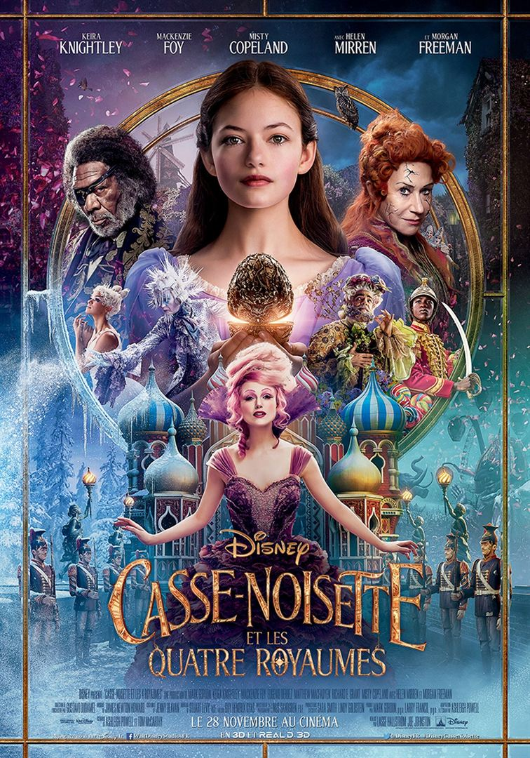 Casse-Noisette et les quatre royaumes affiche