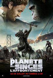 film La Plan�te des singes : l'affrontement en streaming