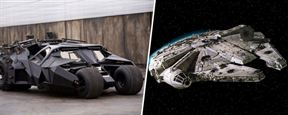 Star Wars VII : quand la Batmobile se cache dans le Faucon Millénium