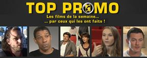 Top Promo avec Marceau, Bruel, Washington, Evans, Aja...