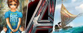 Avengers 2, Moana, Big Eyes... Les photos ciné incontournables de la semaine !