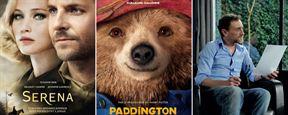 Serena, Paddington, Les Souvenirs... Les bandes-annonces ciné à ne pas rater !