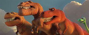 Le Voyage d'Arlo : Arlo face aux T-Rex sur une nouvelle affiche