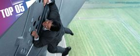 "5 incroyables cascades de Tom Cruise dans ""Mission Impossible"""