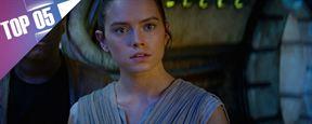 Le Top 5 des personnages féminins dans Star Wars