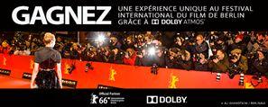 Gagnez une expérience unique au festival international du film de Berlin LA BERLINALE grâce à Dolby Atmos