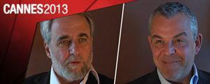 """Cannes 2013 : Ari Folman et Danny Huston, les hommes du """"Congrès"""" !"""