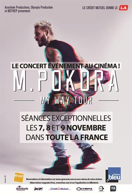 M. Pokora - My way tour (CGR Events)