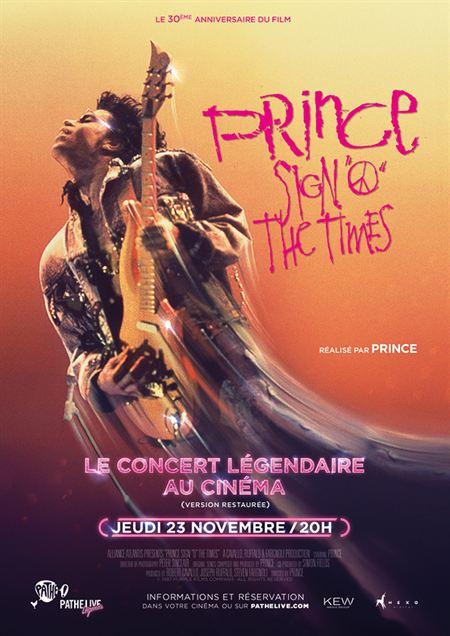Prince - Sign O' the times (Pathé Live)