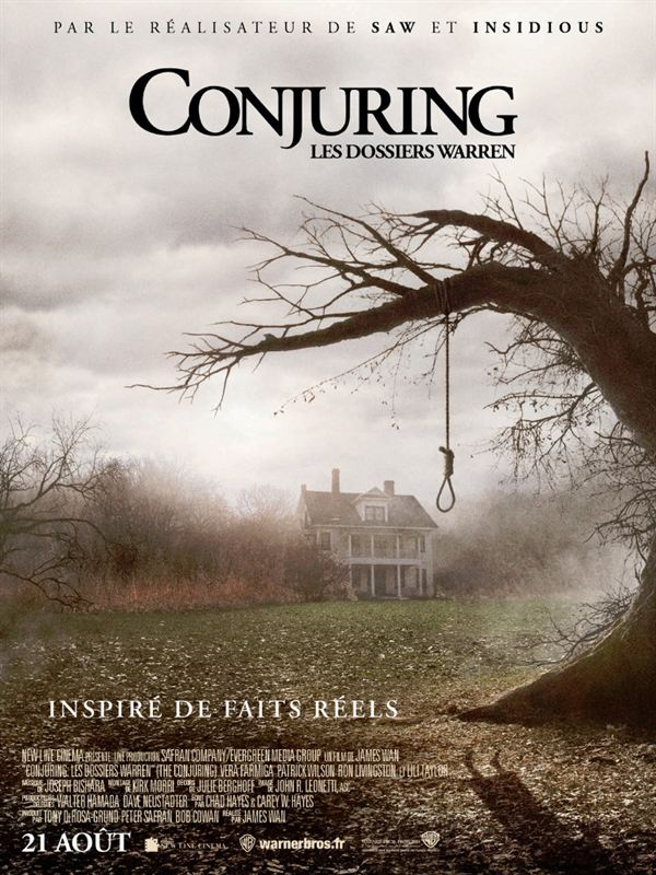 Conjuring : Les dossiers Warren [FRENCH][R6 MD]