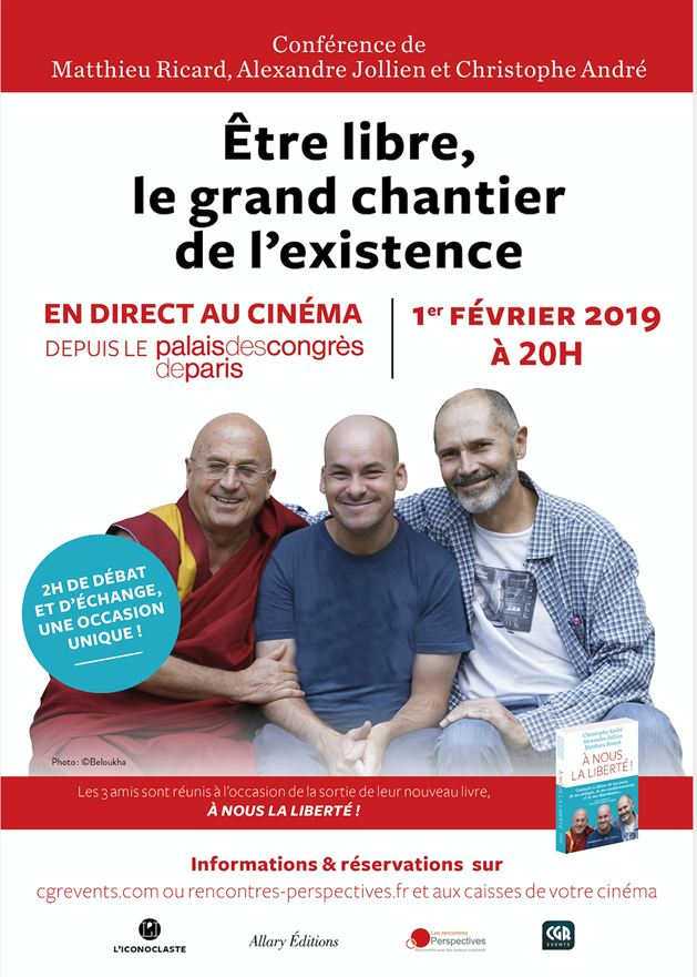 Être libre : le grand chantier de l'existence (CGR Events)