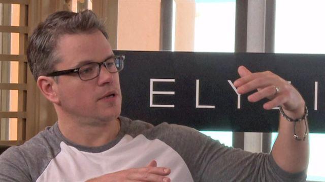 """Matt Damon dans le deuxième plus grand dépotoir du monde ? C'est pour les besoins de """"Elysium"""". Explications."""