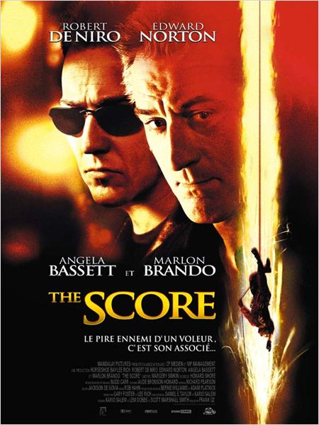 The Score : affiche Edward Norton, Frank Oz, Robert De Niro