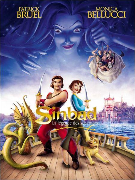 [2D-2003] Sinbad, la légende des 7 mers Affiche