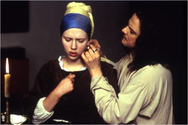 La Jeune fille à la perle : photo Colin Firth, Scarlett Johansson