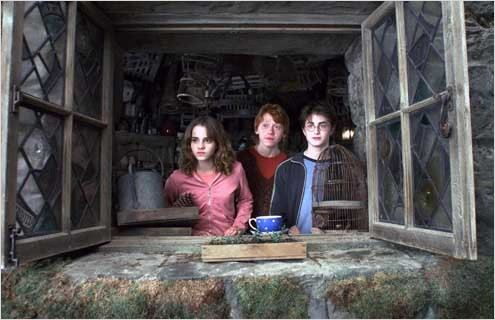Harry Potter et le Prisonnier d&#39;Azkaban : Photo Alfonso Cuar&#243;n, Daniel Radcliffe, Emma Watson, Rupert Grint