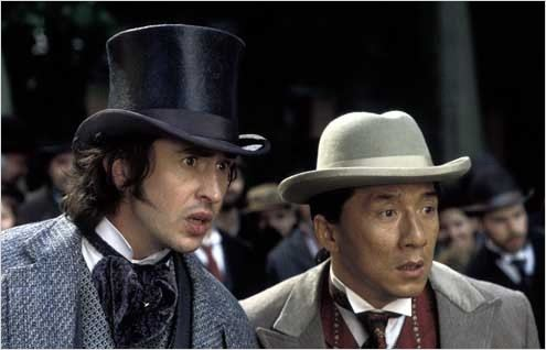 Steve Coogan and Jackie Chan