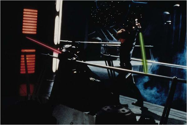 Star Wars : Episode VI - Le Retour du Jedi : Photo David Prowse, Mark Hamill, Richard Marquand