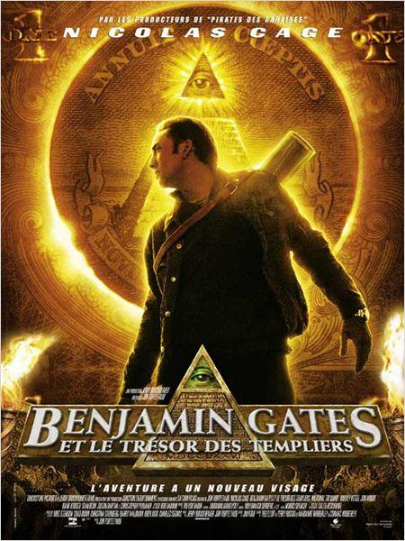 Benjamin Gates et le Trésor des Templiers : Affiche Jon Turteltaub, Nicolas Cage