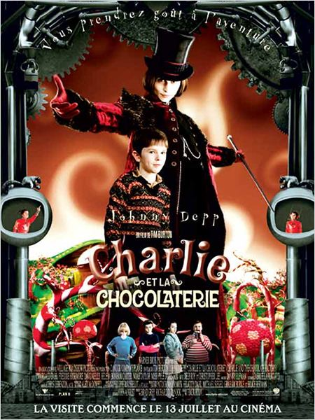 Charlie et la chocolaterie : affiche