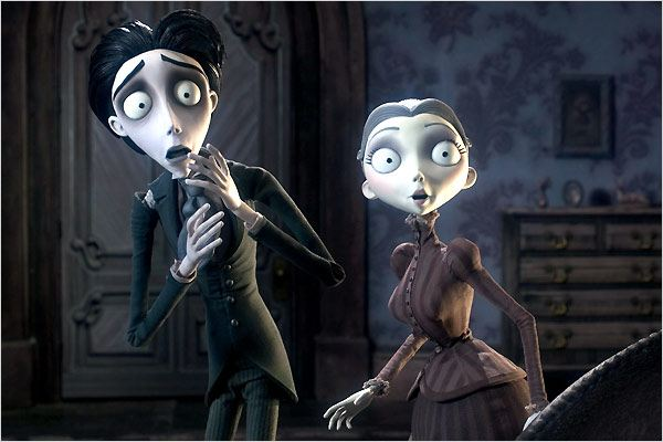 Les Noces funèbres : photo Mike Johnson, Tim Burton