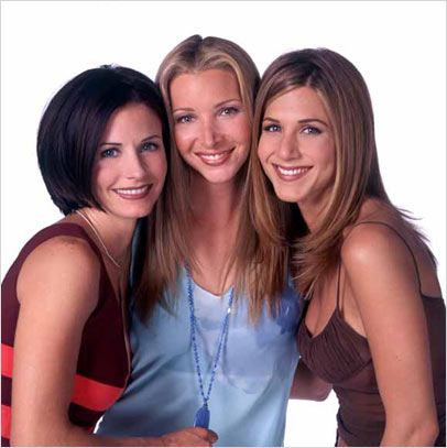 Friends : Photo Courteney Cox, Jennifer Aniston, Lisa Kudrow