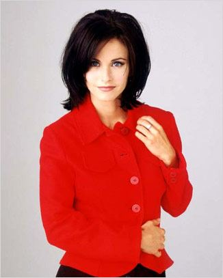Friends : photo Courteney Cox