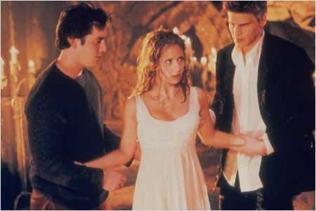 Buffy contre les vampires : Photo David Boreanaz, Nicholas Brendon, Sarah Michelle Gellar