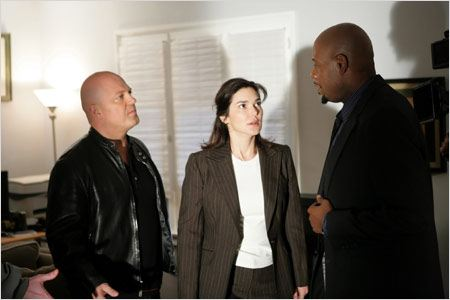 The Shield : Photo Forest Whitaker, Laura Harrington, Michael Chiklis