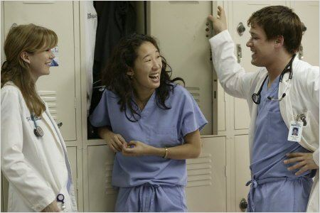 Grey's Anatomy : photo Ellen Pompeo, Sandra Oh, T.R. Knight