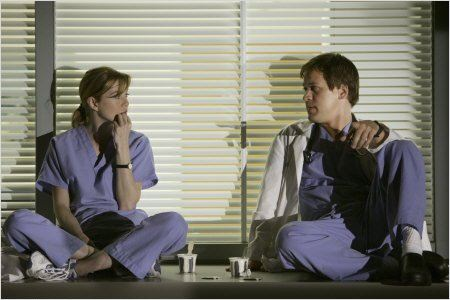 Grey's Anatomy : Photo Ellen Pompeo, T.R. Knight