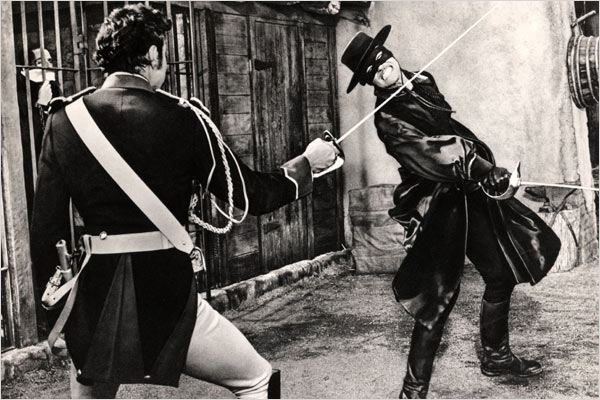 Zorro : Photo Don Diamond, Guy Williams