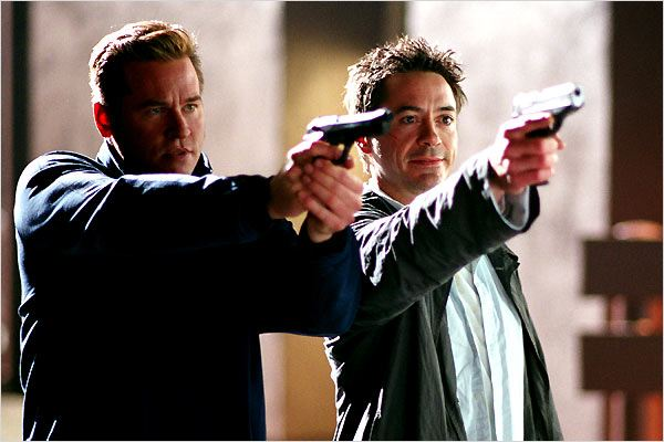 Kiss kiss, bang bang : Photo Robert Downey Jr., Shane Black, Val Kilmer