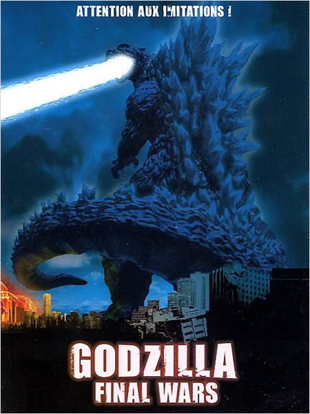 Godzilla: Final Wars : Affiche Ryûhei Kitamura