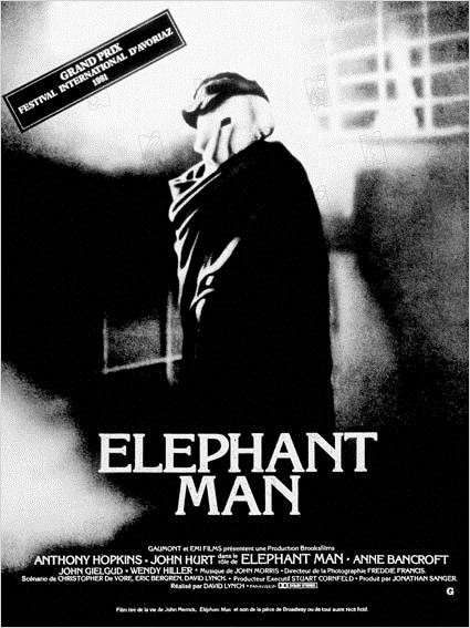 Elephant Man : photo Anthony Hopkins, David Lynch, John Hurt
