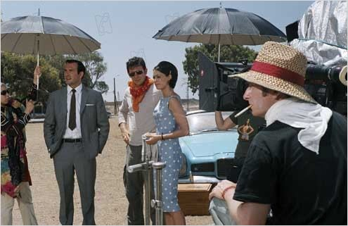 OSS 117, Le Caire nid d&#39;espions : photo B&#233;r&#233;nice Bejo, Jean Dujardin, Michel Hazanavicius