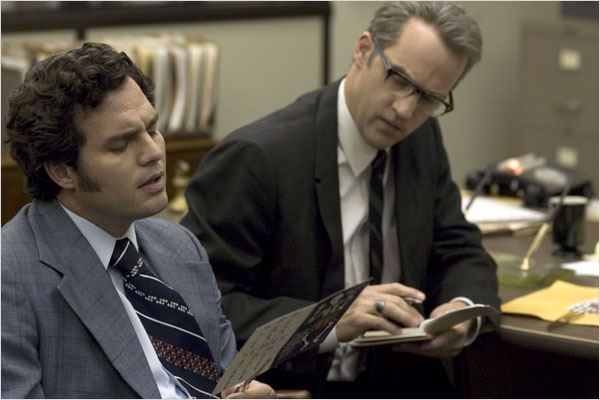 Zodiac : photo Anthony Edwards, David Fincher, Mark Ruffalo