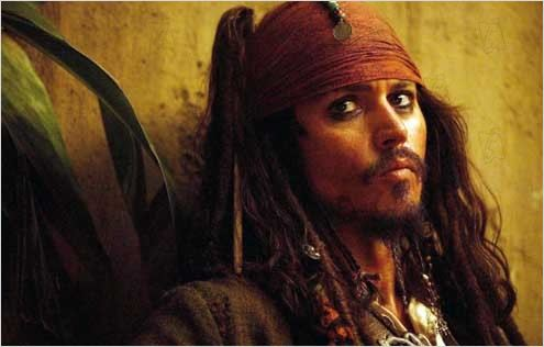 Pirates des Caraïbes : le Secret du Coffre Maudit : Photo Johnny Depp