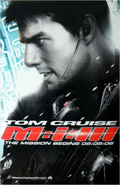 Mission: Impossible III : Affiche Tom Cruise
