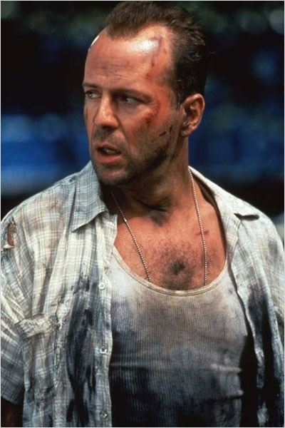 Une journ&#233;e en enfer : photo Bruce Willis, John McTiernan