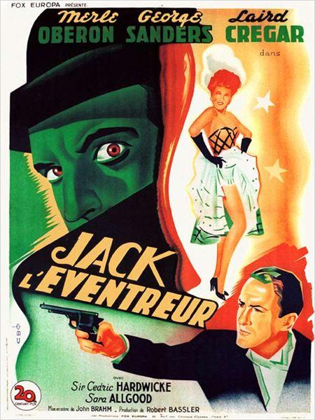 Jack l'éventreur : Affiche John Brahm