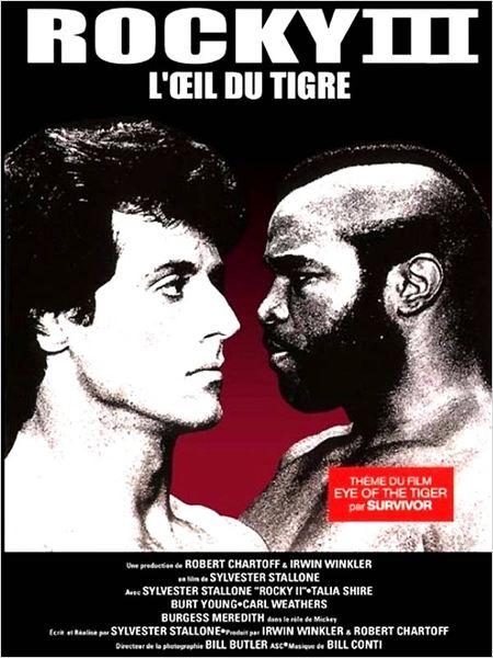 Rocky III : Affiche