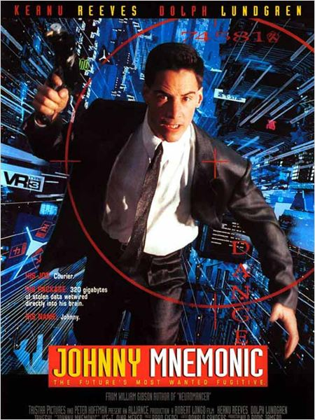 Johnny Mnemonic : Affiche