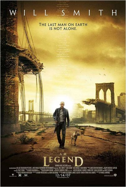 Je suis une l&#233;gende : Affiche Francis Lawrence, Will Smith