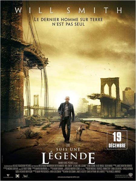 Je suis une l&#233;gende : affiche